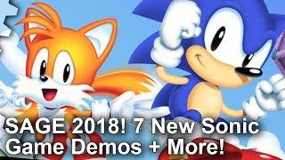 DF Retro Extra: Sonic Chaos 2018, Sonic Z-Treme + 8 More SAGE 2018 Game Demos!