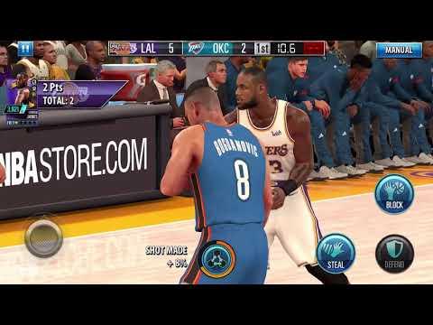 Vídeo do NBA 2K Mobile Basketball