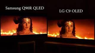 OLED vs QLED 2019 (LG C9 v Samsung Q90R)