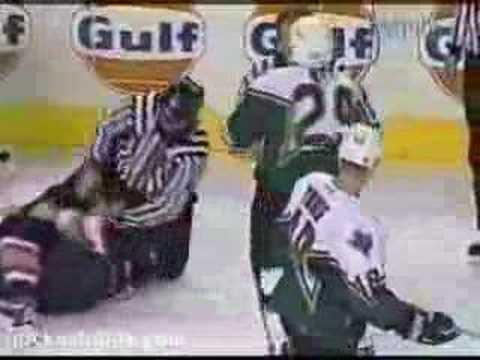 Steve Ott vs Jay McKee