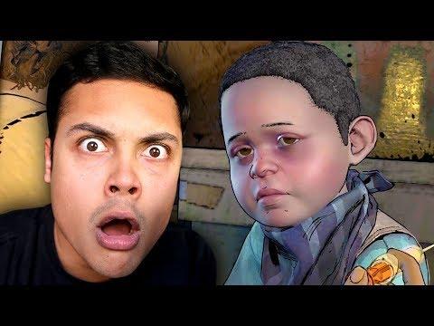 WHAT HAPPENED TO AJ 😭 (The Walking Dead Season 3) (видео)
