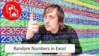 Generate Random Numbers in Excel