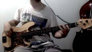 Clouds And Cream - Sticky Fingers | Bass Cover
