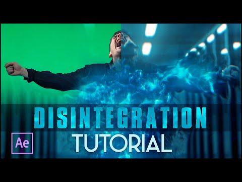disintegration after effects photoshop tutorial by film riot