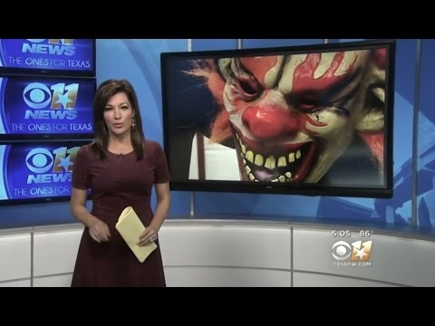 CREEPY CLOWNS AT SCHOOL AND CAUGHT IN THE NEWS - 2016 LATEST SIGHTINGS