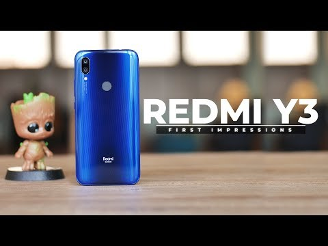 Redmi Y3 First Impressions!