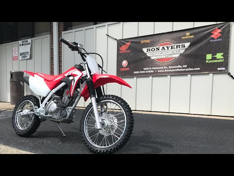 2021 Honda CRF125F in Greenville, North Carolina - Video 1