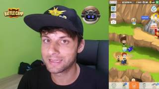 Abrindo 8 Baús Épico do Evento Battle Camp by Pokémon GO Gameplay