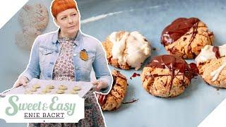 Tahini-Schoko-Kekse: Vegan & glutenfrei   Sweet & Easy - Enie backt   sixx