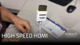 Ultra flexibles High Speed HDMI 2.0b Kabel | HDR10+ | 4K@60Hz | 2160p | ARC