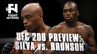 UFC 208: Anderson Silva vs. Derek Brunson Preview