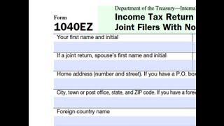 How to Extend Form 1040EZ