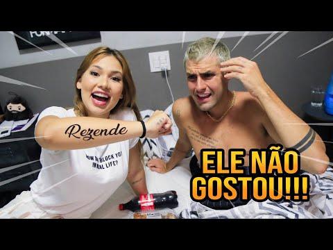 TATUEI O NOME DO MEU NAMORADO DE VERDADE!!