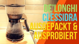 DELONGHI CLESSIDRA COFFEE MACHINE - REVIEW GERMAN
