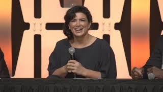 THE MANDALORIAN Star Wars Celebration Panel (2019)   Jon Favreau, Pedro Pascal, Gina Carano