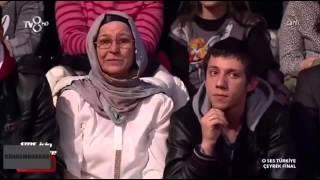 Zeo Jaweed Duygusal anlar Kum gibi O Ses Türkiye TV8 11 şubat çeyrek final FULL HD 1080P