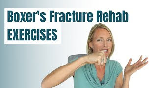 Boxer's Fracture Rehab and Recovery Exercises (GET FAST RESULTS)