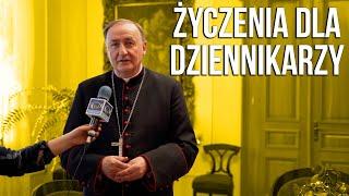 Życzenia Biskupa Andrzeja dla Dziennikarzy!