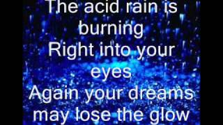 angra - acid rain (witch lirycs and images)