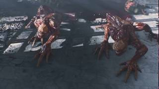 Resident Evil  Damnation (2012)   Attack Scene Part 1