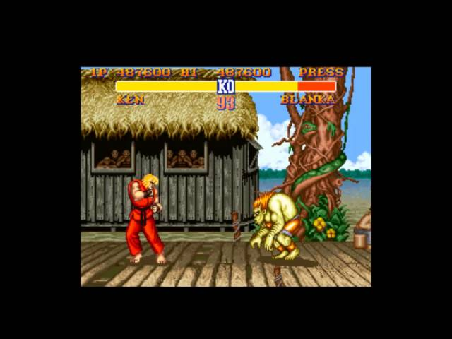 Street Fighter II (SNES) - Ken (Shoryuken only)