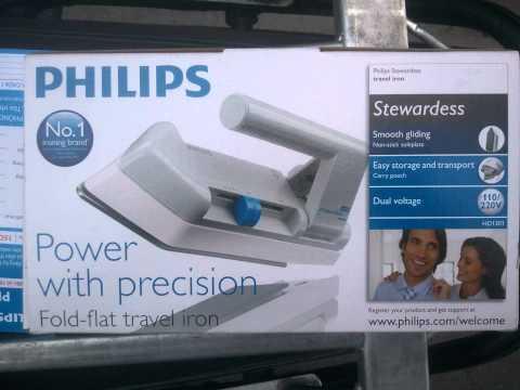 Bàn Là du lịch Philips HD-1301 xuất xứ Indonesia