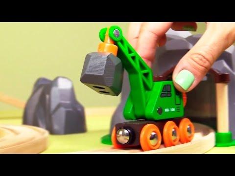 Kinderfilm - Spielzeug aus Holz - Der Bahnhof - Brio toys