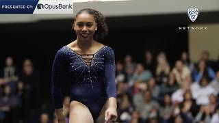 Margzetta Frazier - Pac-12 Gymnastics Freshman of the Week (1-15-19)