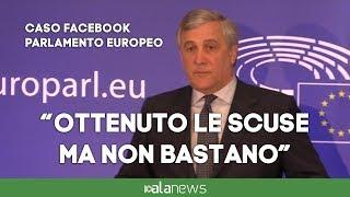 """Zuckerberg, Tajani: """"Vigileremo su sue assicurazioni"""""""