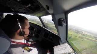 preview picture of video 'Landing at El Dorado International Airport (SKBO), Airbus A319-115 N691AV Avianca'