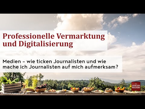 Medien – wie ticken Journalisten und wie mache ich Journalisten auf mich aufmerksam?