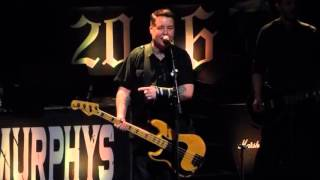 """Career Opportunities (Clash)"" Dropkick Murphys@Electric Factory Philadelphia 3/13/16"