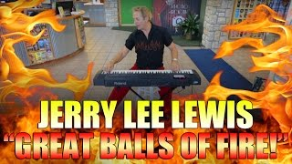 Legends in Concert - Jerry Lee Lewis - Great Balls of Fire (Branson Missouri) Video