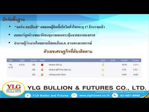 YLG Gold Night Report ประจำวันที่ 30-07-2020