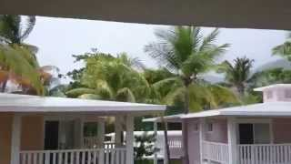 preview picture of video 'Tempête en République Dominicaine'