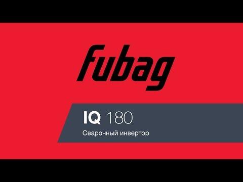 Сварочный инвертор FUBAG IQ 180