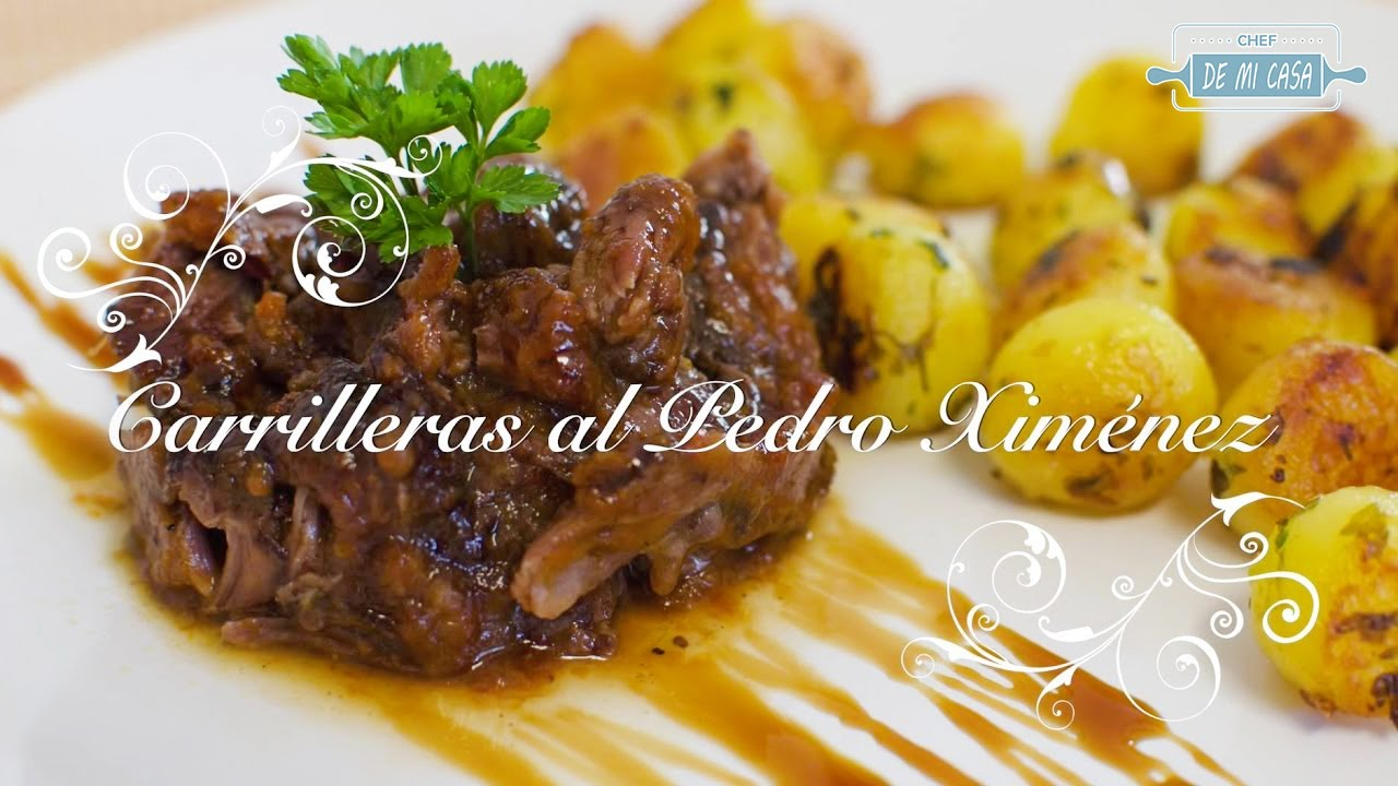 Carrilleras al Pedro Ximenez | Carrilleras de Cerdo | Carilleras | Recetas de Navidad faciles