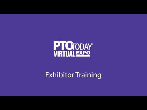 PTO Today Virtual Expo Exhibitor Training