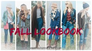 Fall Lookbook 2016 - Jeans And Cowgirl Boots Outfits