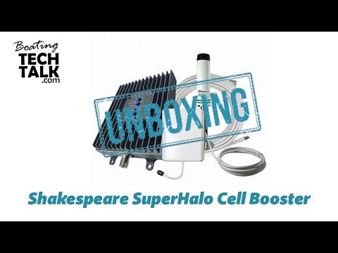 UnBoxing and Product Review - Shakespeare Superhalo Cell Booster