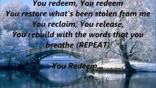 Aaron Shust - You Redeem (Extended Live ft. Matt Hammitt)