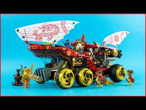 LEGO NINJAGO 70677 Land Bounty Construction Toy UNBOXING