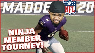 Ninja Members Go At It For The Madden Crown! (Madden 20 Tournament)