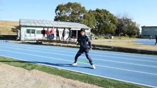 【強豪校・岡崎城西高のトレーニング】チューブ歩行で臀筋強化!