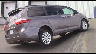 2016 Toyota Sienna XLE Limited AWD - The most complete review EVER!