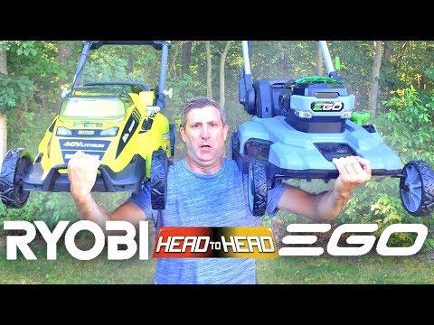 EGO VS RYOBI – Best Cordless Battery Powered Lawn Mower Review
