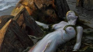 Requiem For A Mermaid - Paintings By Donato Giancola