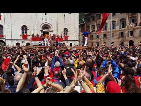 Ceri di Gubbio 2016 integrale - Feast of candles