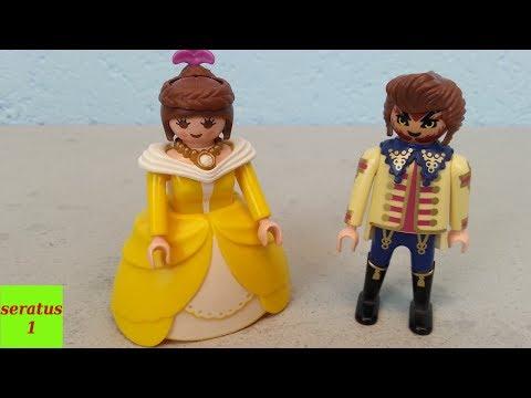 Belle und das Biest selber machen aus Playmobil Figuren seratus1