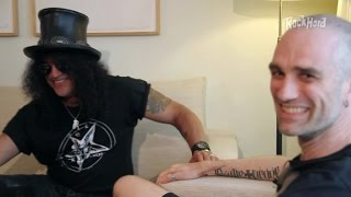 Slash on why he had no contact with Paul Stanley for years - Rock Hard Interview